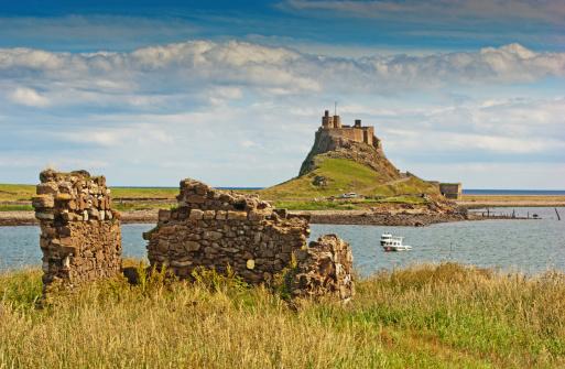 Ruined「Lindisfarne Castle」:スマホ壁紙(13)