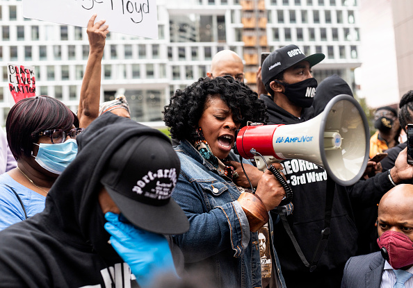 Minnesota「Protests Continue Over Death Of George Floyd, Killed In Police Custody In Minneapolis」:写真・画像(1)[壁紙.com]