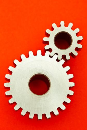 Two Objects「Gears」:スマホ壁紙(4)
