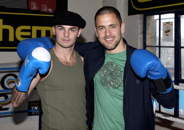 Boxer Kevin Mitchell「Joe Cole and Kevin Mitchell - Photocall」:写真・画像(6)[壁紙.com]