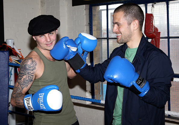Boxer Kevin Mitchell「Joe Cole and Kevin Mitchell - Photocall」:写真・画像(1)[壁紙.com]