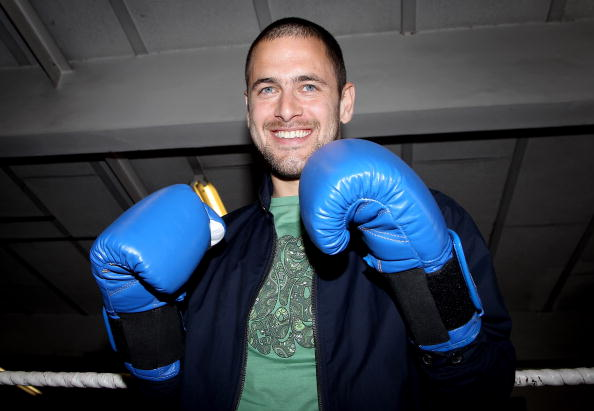 Boxer Kevin Mitchell「Joe Cole and Kevin Mitchell - Photocall」:写真・画像(7)[壁紙.com]