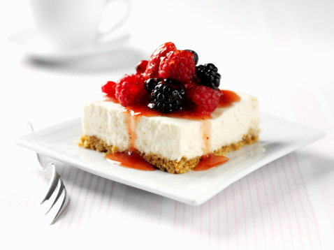 Dessert「Berry cheesecake」:スマホ壁紙(1)