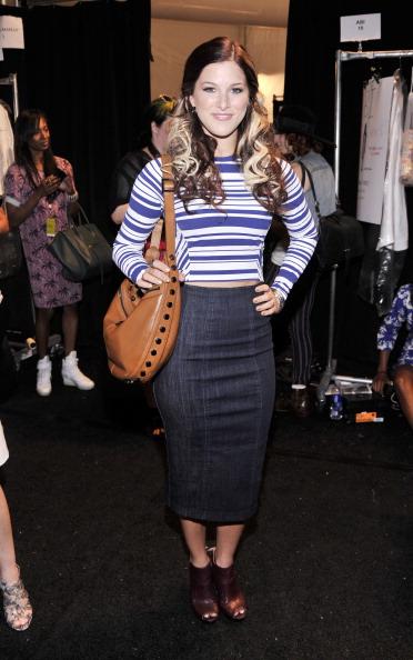 Brown Boot「Nanette Lepore - Backstage - Mercedes-Benz Fashion Week Spring 2014」:写真・画像(0)[壁紙.com]