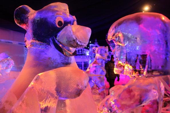 Sculpture「Snow & Ice Sculpture Festival in Bruges」:写真・画像(8)[壁紙.com]