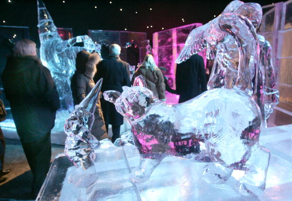 Ice Sculpture「Annual Ice Sculpture Festival In Bruges」:写真・画像(4)[壁紙.com]