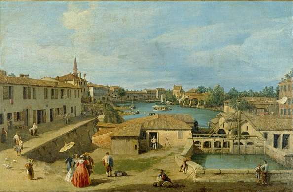 18th Century Style「A View Of Dolo On The Brenta Canal」:写真・画像(6)[壁紙.com]