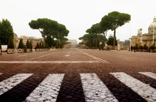 Roman「Via dei Fori Imperiali」:スマホ壁紙(0)
