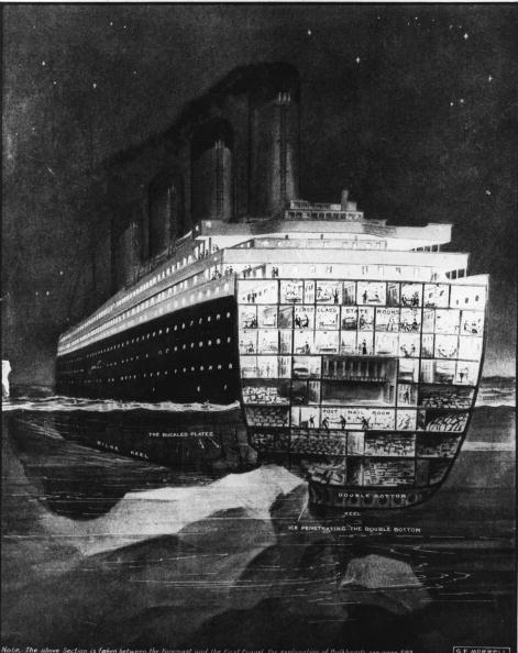 Iceberg - Ice Formation「Titanic Damage」:写真・画像(19)[壁紙.com]