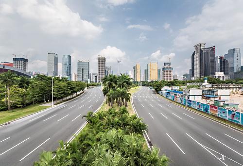 Boulevard「Urban Highway in Shenzhen」:スマホ壁紙(8)