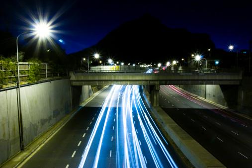 Multiple Exposure「Urban highway」:スマホ壁紙(17)