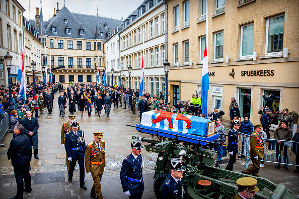 Luxembourg Royalty「Funeral Of Grand Duke Jean Of Luxembourg」:写真・画像(13)[壁紙.com]
