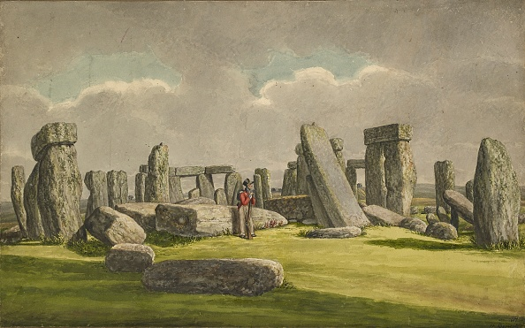Overcast「Stonehenge From The W.S.W.」:写真・画像(3)[壁紙.com]