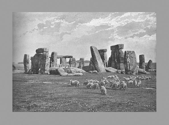 世界遺産「Stonehenge, C1900」:写真・画像(17)[壁紙.com]