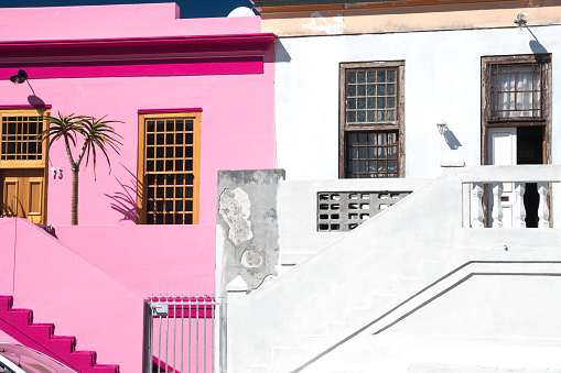 Malay Quarter「Brightly coloured houses, Waal Street in Bo-Kaap area (Malaysian/Muslim), Cape Town, South Africa」:スマホ壁紙(7)