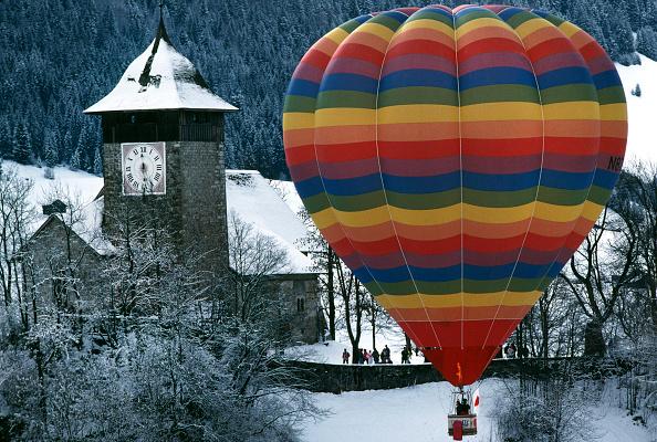 Vaud Canton「Chateau d'Oex Balloon Festival」:写真・画像(7)[壁紙.com]