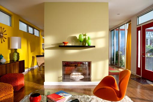 Color Image「Brightly Colorful modern interior」:スマホ壁紙(12)