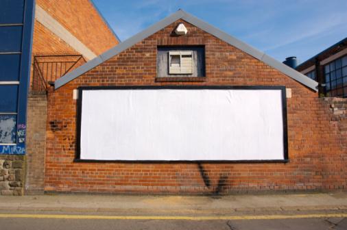 Horizontal「Real Blank Billboard」:スマホ壁紙(10)