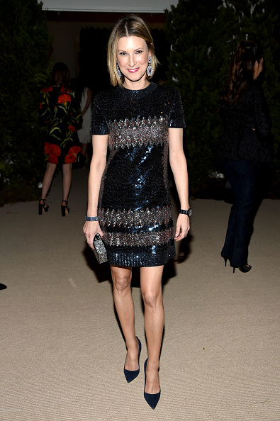 Middle Hair Part「12th Annual CFDA/Vogue Fashion Fund Awards - Inside」:写真・画像(9)[壁紙.com]