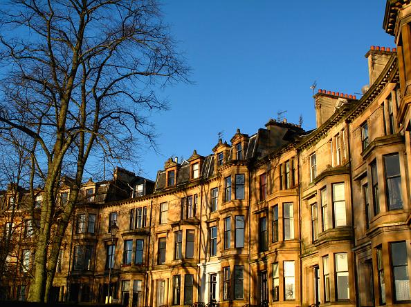 Glasgow - Scotland「Blonde sandstone Glasgow tenements」:写真・画像(0)[壁紙.com]