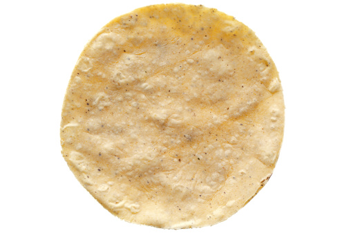 Tortilla - Flatbread「Corn tortilla on white background」:スマホ壁紙(16)