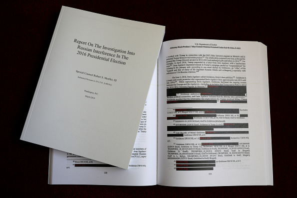 Exploration「Justice Department Releases Redacted Version Of The Mueller Report」:写真・画像(2)[壁紙.com]