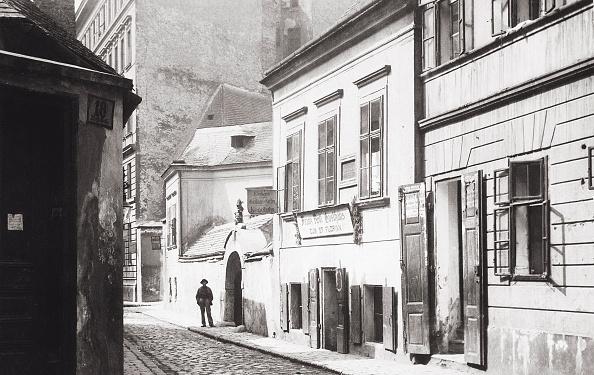 Footpath「Birthplace Of Johann Strauss On Flossgasse 7. Vienna, 2Nd District. Austria. Photograph. About 1890.」:写真・画像(7)[壁紙.com]