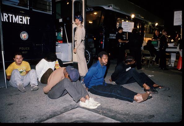 Gang「Anti Gang Sweeps In Los Angeles」:写真・画像(6)[壁紙.com]