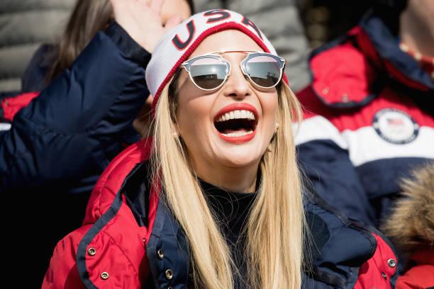 2018 Winter Olympics - Pyeongchang「Ivanka Trump Attends Day 16 of PyeongChang Winter Olympics」:写真・画像(3)[壁紙.com]
