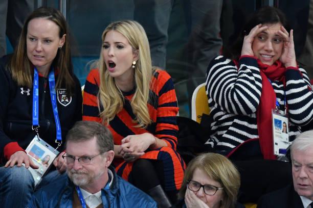 数人「Ivanka Trump Attends Day 15 of PyeongChang Winter Olympics」:写真・画像(4)[壁紙.com]
