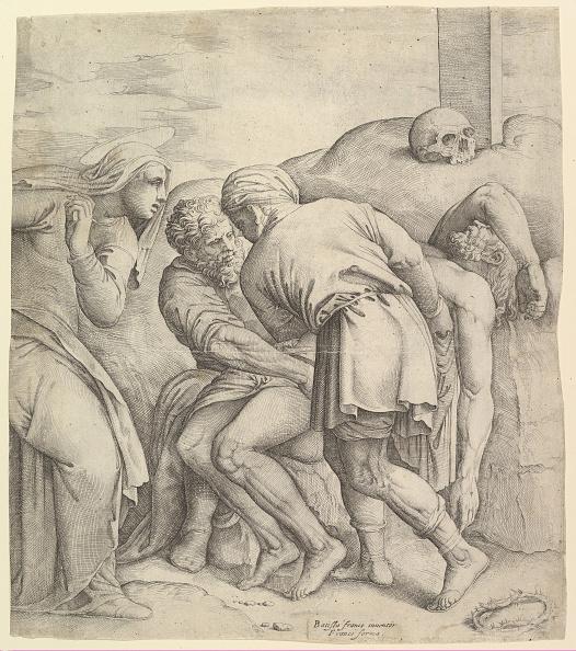Jesus Christ「The Entombment Creator: Battista Franco Veneziano」:写真・画像(14)[壁紙.com]
