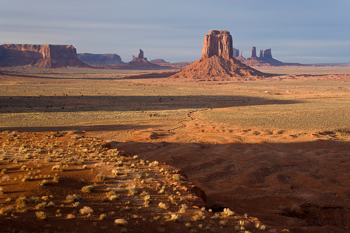 Monument Valley「Buttes in Monument Valley」:スマホ壁紙(14)