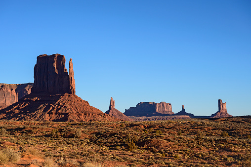 Monument Valley「Buttes in Monument Valley, Arizona, USA」:スマホ壁紙(11)