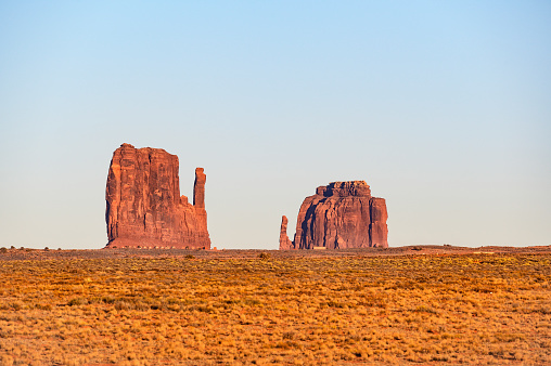 Monument Valley「Buttes in Monument Valley, Arizona, USA」:スマホ壁紙(12)