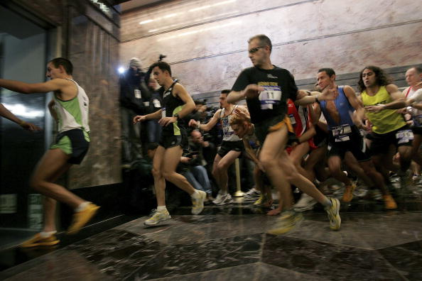 Steps「Runners Compete In Annual Race Up The Empire State Building」:写真・画像(10)[壁紙.com]