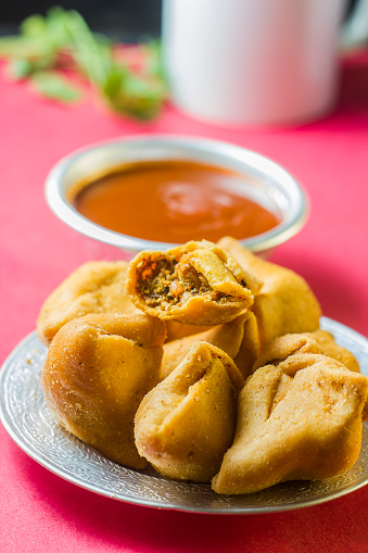 Punjab - India「mini samosa with sauce」:スマホ壁紙(14)