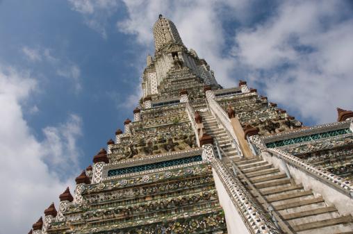 Steep「Wat Arun Temple , Chedi , Bangkok , Thailand」:スマホ壁紙(16)