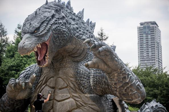 2014 movie GODZILLA Godzilla「Godzilla Gets Final Touch-up Ahead Of 'MIDTOWN meets GODZILLA' Exhibition」:写真・画像(16)[壁紙.com]
