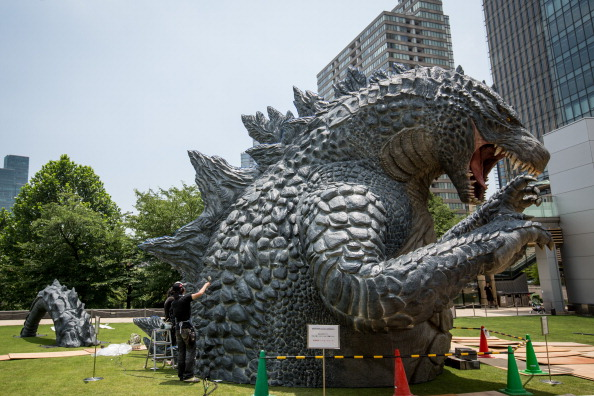 2014 movie GODZILLA Godzilla「Godzilla Gets Final Touch-up Ahead Of 'MIDTOWN meets GODZILLA' Exhibition」:写真・画像(19)[壁紙.com]