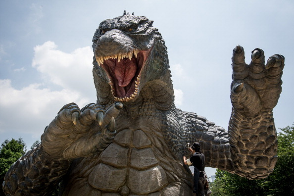 2014 movie GODZILLA Godzilla「Godzilla Gets Final Touch-up Ahead Of 'MIDTOWN meets GODZILLA' Exhibition」:写真・画像(12)[壁紙.com]