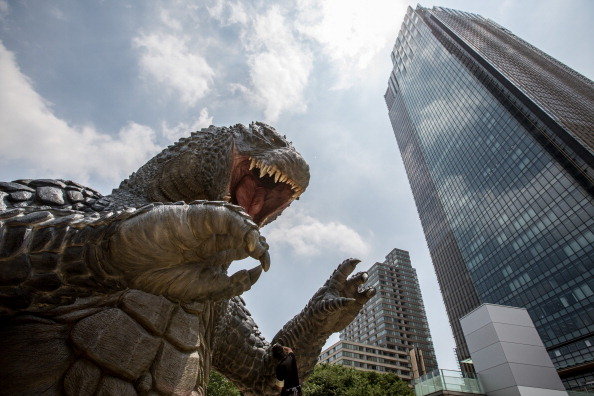 2014 movie GODZILLA Godzilla「Godzilla Gets Final Touch-up Ahead Of 'MIDTOWN meets GODZILLA' Exhibition」:写真・画像(14)[壁紙.com]