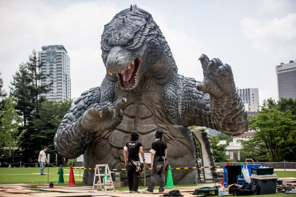2014 movie GODZILLA Godzilla「Godzilla Gets Final Touch-up Ahead Of 'MIDTOWN meets GODZILLA' Exhibition」:写真・画像(17)[壁紙.com]