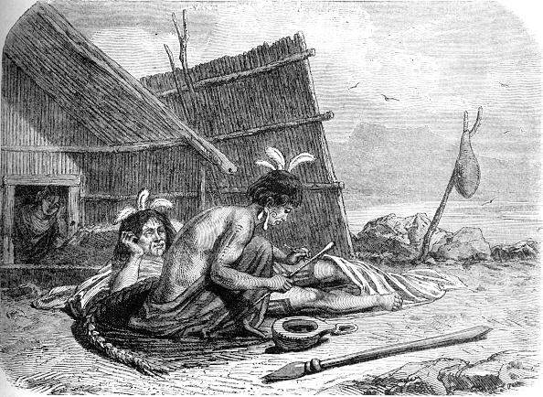 Land「Tattooing A Maori Chief」:写真・画像(5)[壁紙.com]