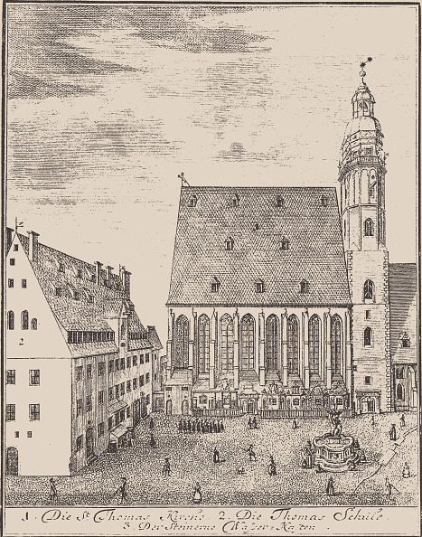 Leipzig - Saxony「St. Thomas Church And St. Thomas School In Leipzig」:写真・画像(0)[壁紙.com]