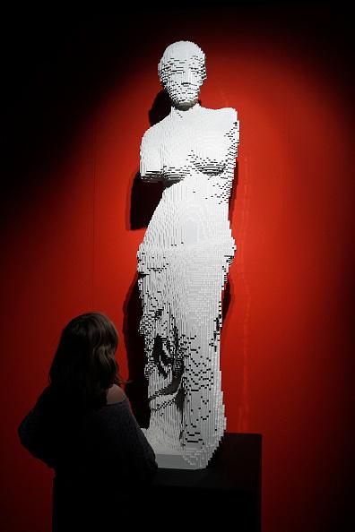 Sculpture「'The Art of The Brick' :  Nathan Sawaya's Exhibition At Porte De Versailes In Paris」:写真・画像(6)[壁紙.com]