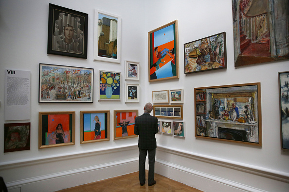 Art Museum「Summer Exhibition Launch At The Royal Academy」:写真・画像(1)[壁紙.com]