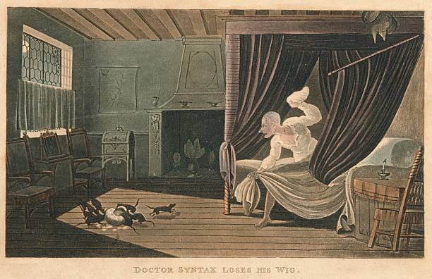 'Doctor Syntax Loses His Wig', 1820:ニュース(壁紙.com)