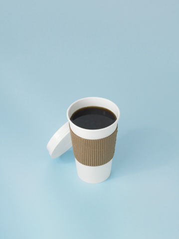 Disposable Cup「Coffee in paper cup」:スマホ壁紙(17)