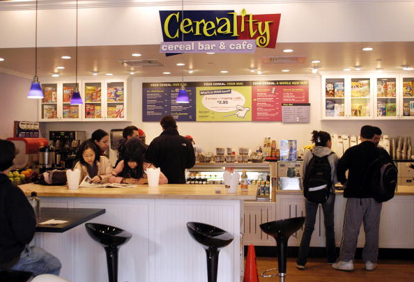 William Thomas Cain「Cereal Bar Opens On University Of Pennsylvania Campus」:写真・画像(4)[壁紙.com]