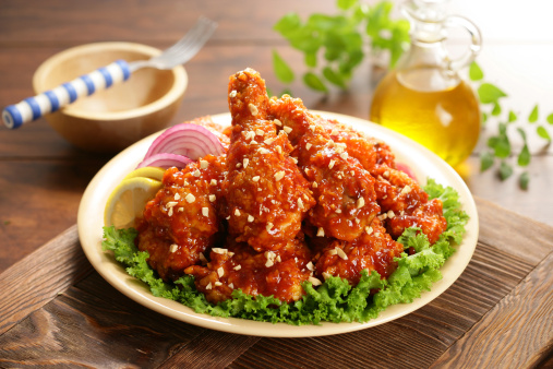 Chili Sauce「Fried chicken with chilli sauce」:スマホ壁紙(15)